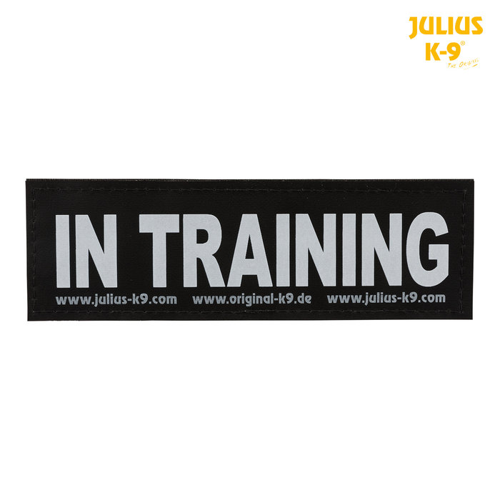 2 Etiquetas Julius-K9, L, IN TRAINING