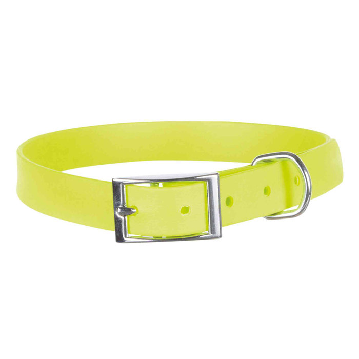 Collar Easy Life, XL, 59-67 cm/25 mm, Amarillo Neón