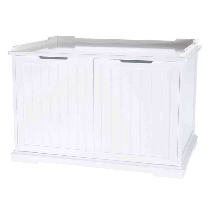 Mueble de Baño Cat House XL, 75 × 51 × 53 cm, Blanco