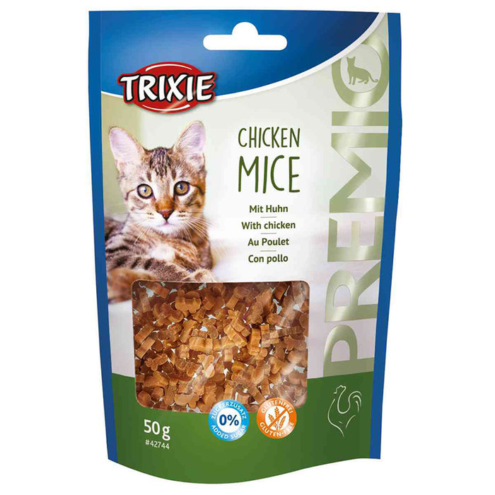 Snack PREMIO Chicken Mice, 50 g