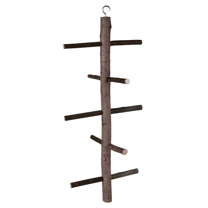 Posadero aviario Natural Living, Madera, 47 cm