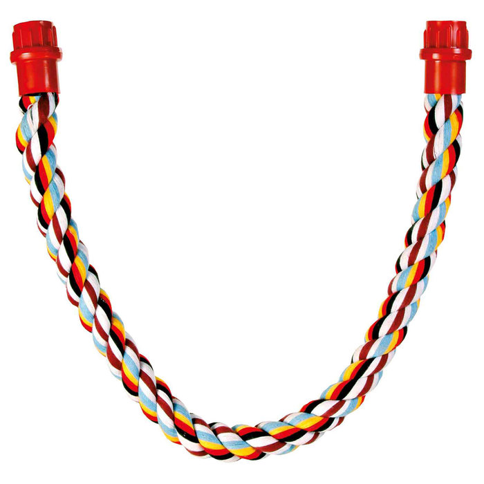 Perchas Cuerda Multicolor, Algodón, 75 cm, ø30 mm