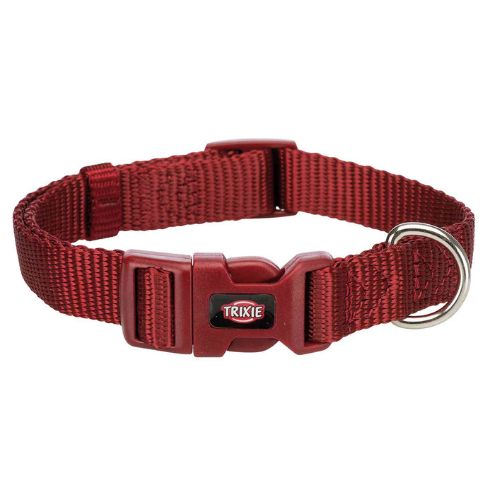 Collar NEW Premium, S–M, 25–40 cm/15 mm, Bermellón