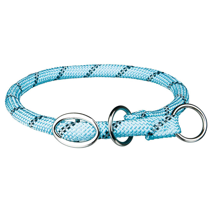 Collar Educación Sporty Rope, L–XL, 55 cm/ø13 mm, Azul