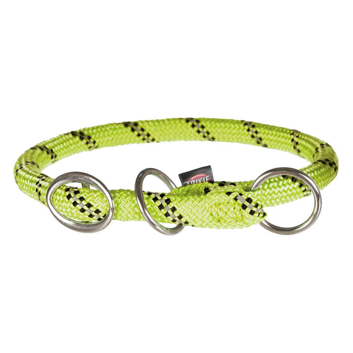 Collar Educación Sporty Rope, L–XL, 55 cm/ø13 mm, Verde
