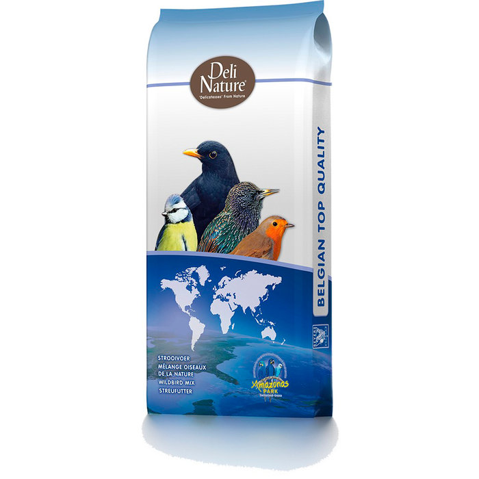 Mixtura para Aves Silvestres 37 SUPER ENERGY MIX, Deli Nature, 15 kg