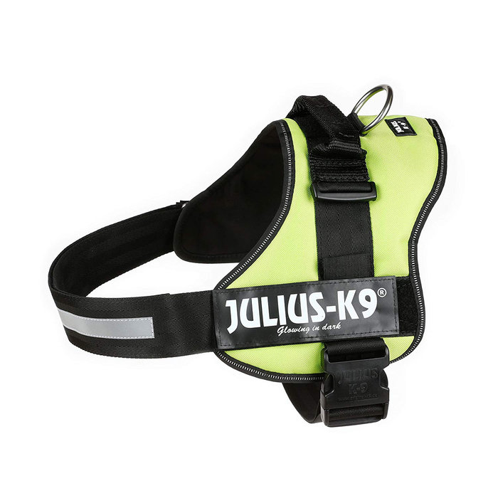 Arnés Julius-K9 Power, Talla 3, XL, 82-118 cm, Verde Lima