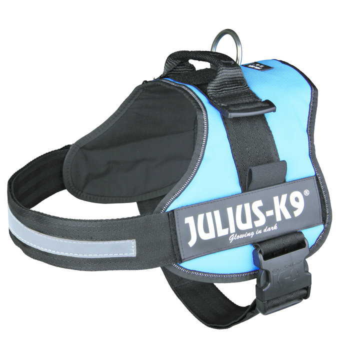 Arnés Julius-K9 Power, Talla 3, XL, 82-118 cm, Aguamarina