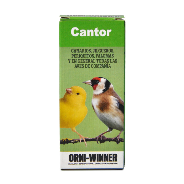 Orni-Winner, Complemento para aves cantoras, 20 ml