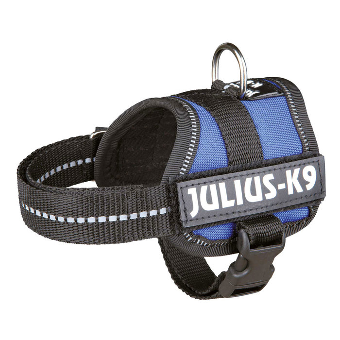 Arnés Julius-K9 Power, Baby 1/XS, 30–40 cm/18 mm, Azul